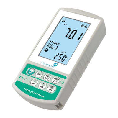 CLEAN L'EAU PH250 Portable pH Meter