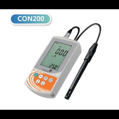 Clean L'eau CON200 terepi vezetőképesség mérő készülék