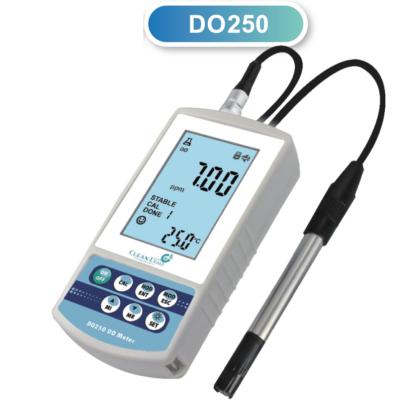 CLEAN L'EAU DO250-a Hordozható oldott oxigén mérő
