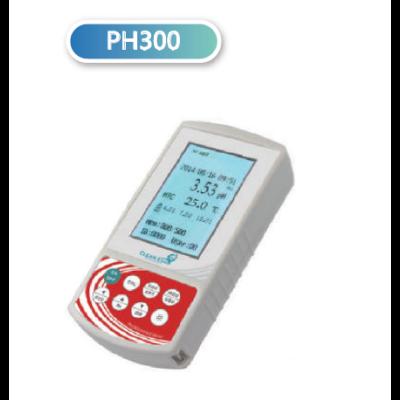 CLEAN L'EAU PH300-A hordozható pH-Ion mérő