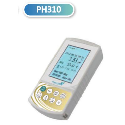CLEAN L'EAU PH310 hordozható pH-Ion mérő