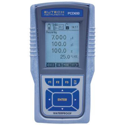 EUTECH PCD650 Hordozható elektrokémiai multiméter