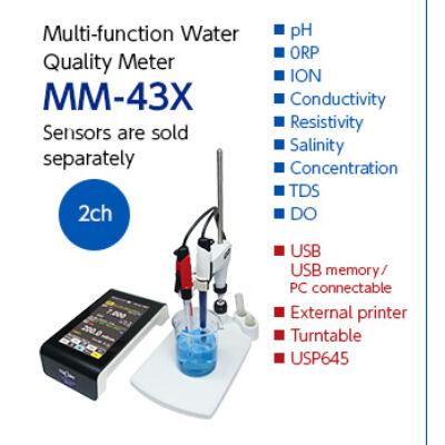 DKK TOA MM-43X Asztali pH mérő készülék