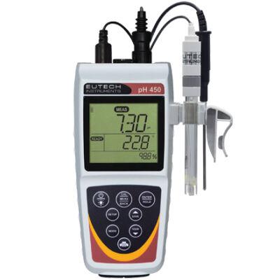 Eutech pH450 Terepi pH-Ion mérő készülék