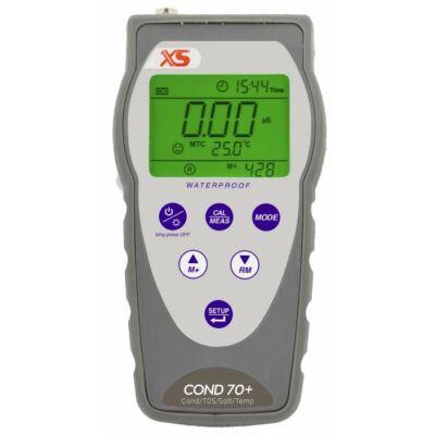 XS Instruments COND70+ Hordozható (terepi) vezetőképesség mérő készülék